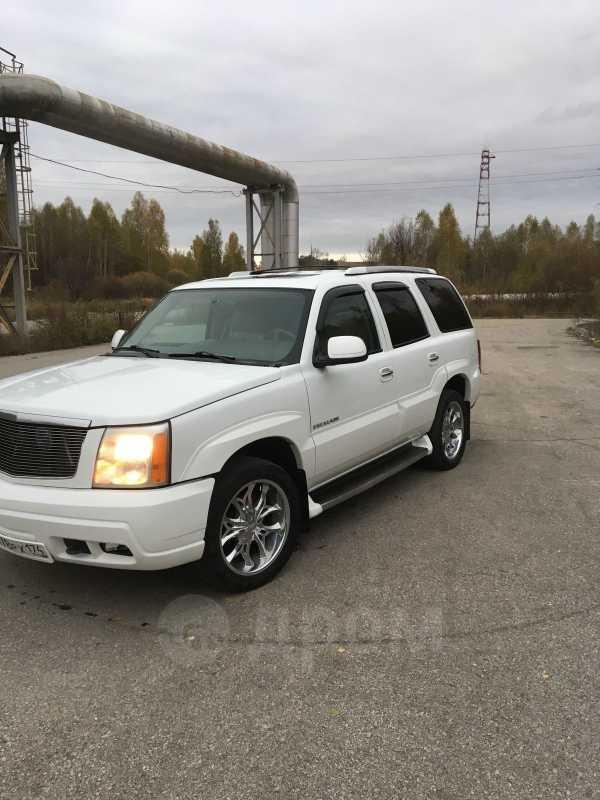 Cadillac Escalade, 2002 год, 600 000 руб.