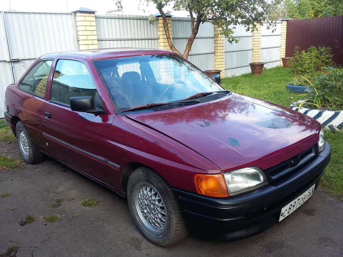 ford escort 1990- обзор, тест
