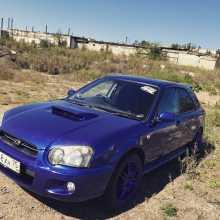 Чита Impreza WRX 2003