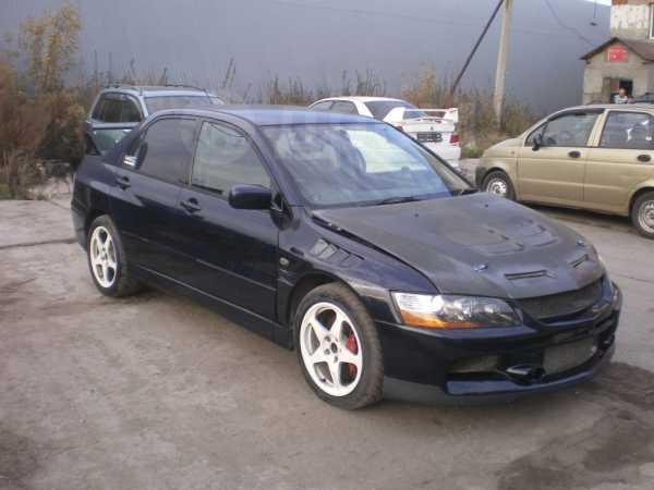 Mitsubishi Lancer Evolution, 2002 год, 730 000 руб.