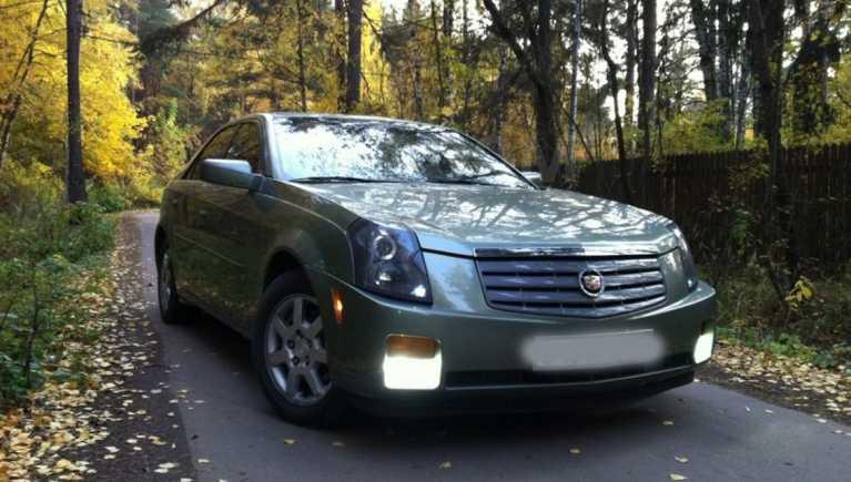 Cadillac CTS, 2002 год, 600 000 руб.