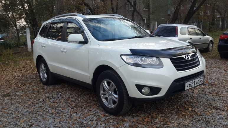 Hyundai Santa Fe, 2010 год, 975 000 руб.