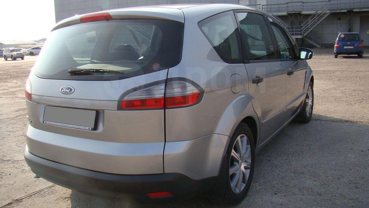 ford s-max 2006 штатная сигнализация