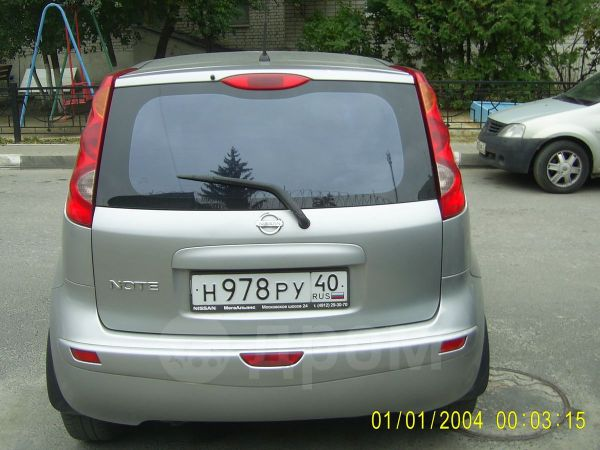 Nissan Note, 2007 год, 240 000 руб.