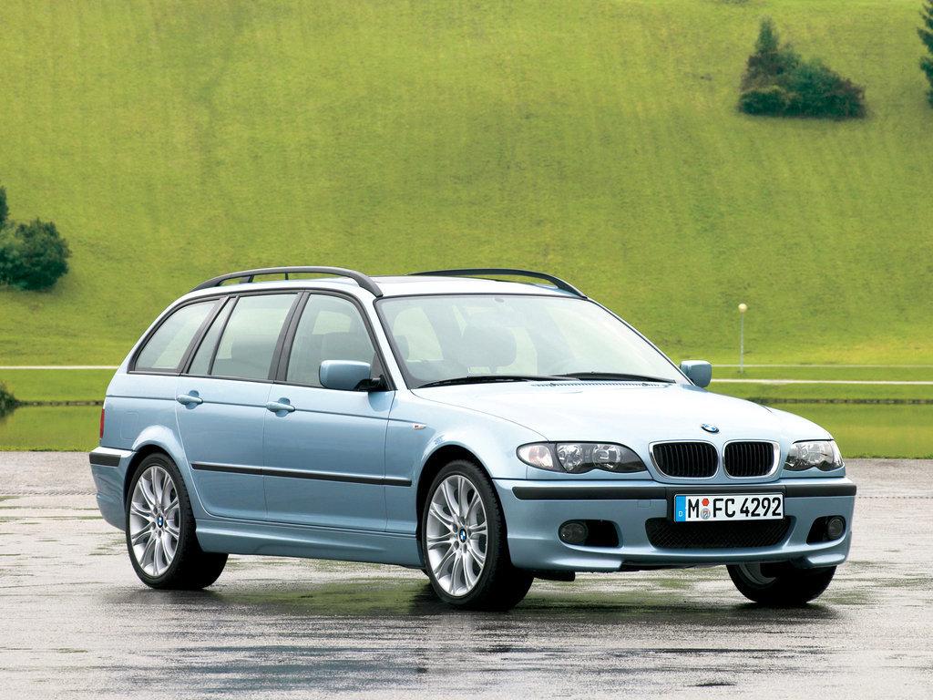 Bmw 3 Series рестайлинг 2001 2002 2003 2004 2005 универсал 4