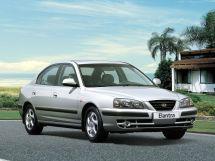 Hyundai Elantra рестайлинг 2003, седан, 3 поколение, XD