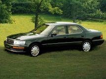 Toyota Celsior рестайлинг 1992, седан, 1 поколение, XF10