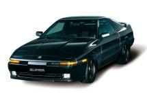 Toyota Supra рестайлинг 1988, купе, 3 поколение, A70