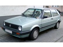 Volkswagen Golf restyled 1987, hatchback, 2nd generation, Mk2