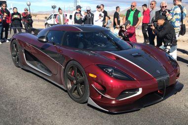 Koenigsegg Agera RS — самый быстрый серийный авто вмире (видео заезда)