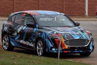 Презентация нового Ford Focus состоится в январе 2018 года.