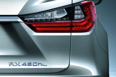 Семиместный Lexus RX L покажут вконце месяца