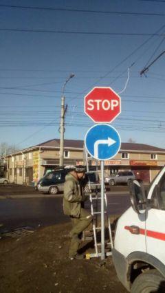 Движение на одном из сложных перекрестков Иркутска сделали более безопасным