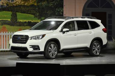 Subaru Ascent: новый внедорожник стремя рядами сидений