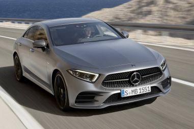 Mercedes-Benz представил четырехдверное купе CLS нового поколения