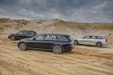 VolvoV90 T6 против Mercedes-Benz E220d и Subaru Outback3.6. Искатели приключений