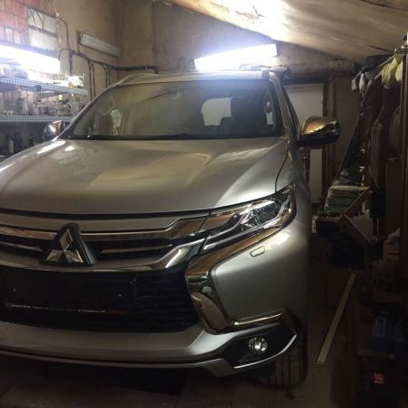 Mitsubishi Pajero Sport 2017 - отзыв владельца