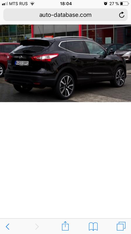 Nissan Qashqai 2015 - отзыв владельца
