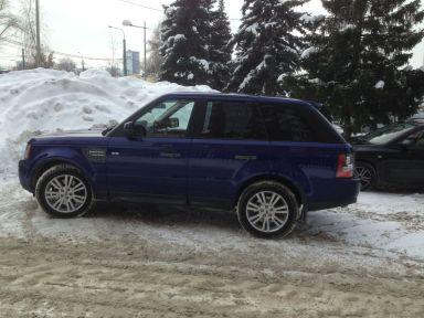 Range Rover Sport 2010 отзыв автора | Дата публикации 20.11.2017.