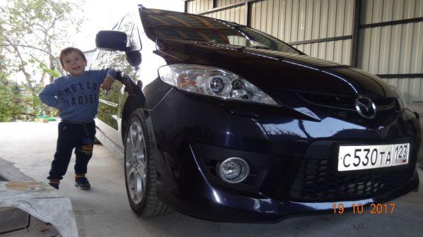 Mazda Mazda5 2007 - отзыв владельца