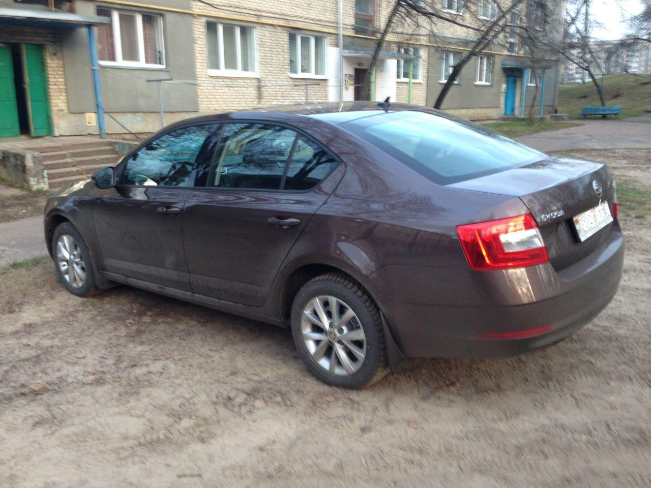 Skoda в белоруссии с атмосферником