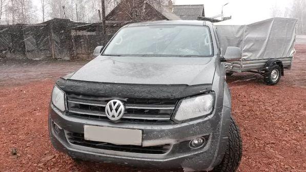 Volkswagen Amarok 2013 - отзыв владельца