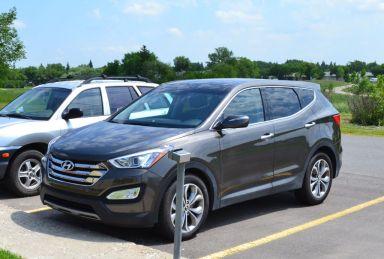 Hyundai Santa Fe 2013 отзыв автора | Дата публикации 30.11.2017.