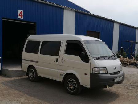 Nissan Vanette 2007 - отзыв владельца