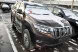 Toyota Land Cruiser Prado. КОРИЧНЕВЫЙ «ПЕРЛАМУТР» (4X4)