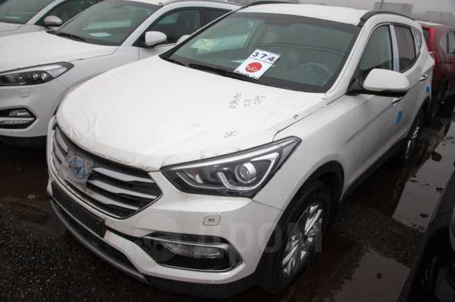 Hyundai Santa Fe, 2017 год, 2 201 000 руб.