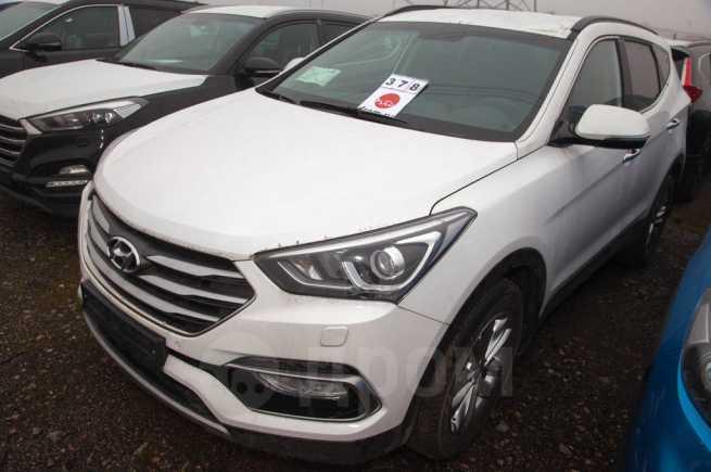 Hyundai Santa Fe, 2017 год, 2 344 000 руб.