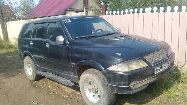 SsangYong Musso, 2000 год, 199 000 руб.