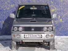 Свободный Pajero Mini 2001