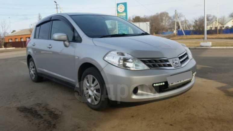 Nissan Tiida, 2009 год, 395 000 руб.