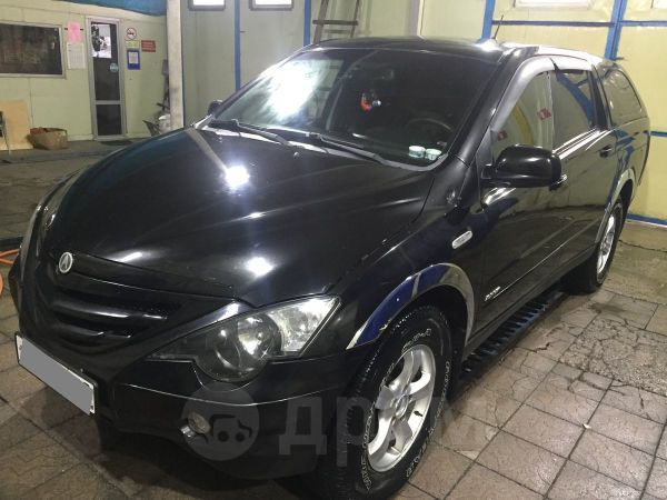 SsangYong Actyon Sports, 2007 год, 420 000 руб.