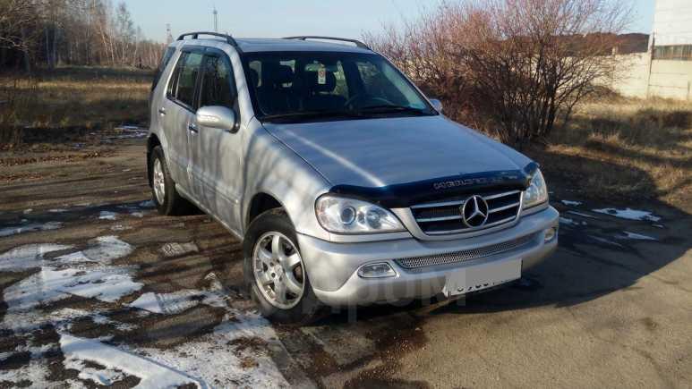 Mercedes-Benz M-Class, 2002 год, 515 000 руб.