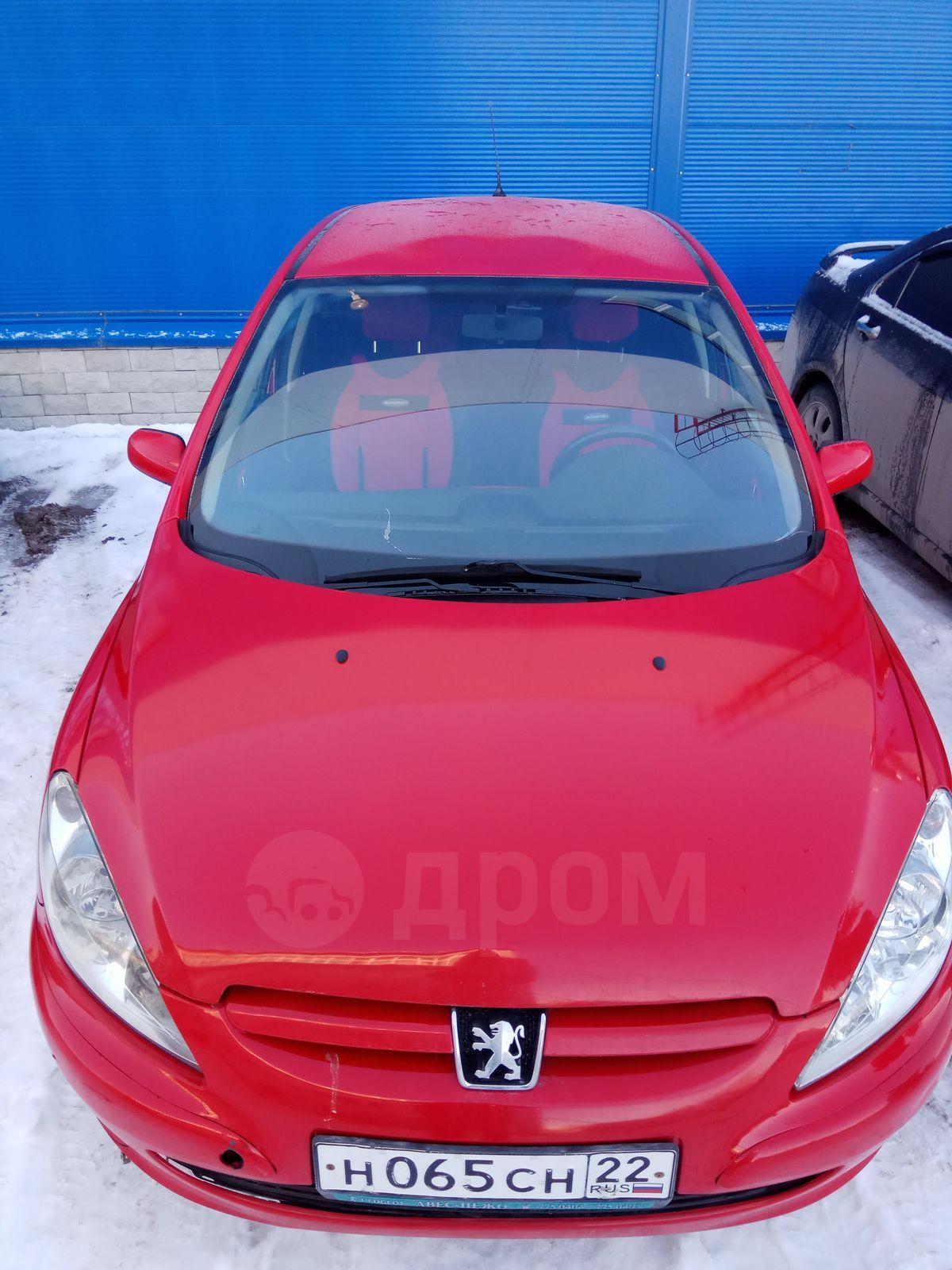 Авто peugeot г в Новосибирске АВТОМАТ АБС КЛИМАТ  peugeot 307 2003 год 220 000 руб
