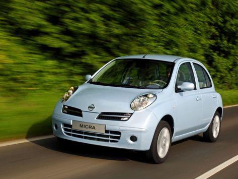 Nissan Micra (K12C) 06.2005 - 12.2007
