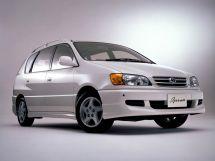Toyota Ipsum рестайлинг 1998, минивэн, 1 поколение, SXM10