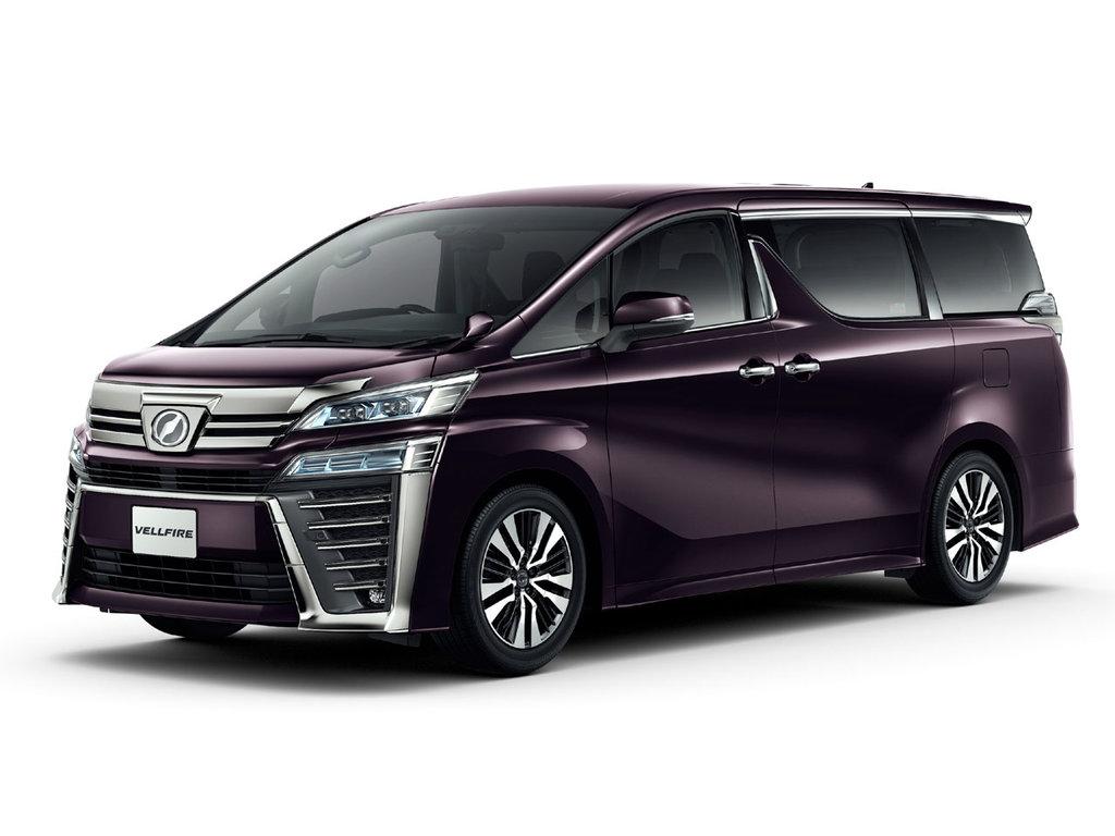 Toyota Vellfire рестайлинг 2017, 2018, 2019, минивэн, 2 ...