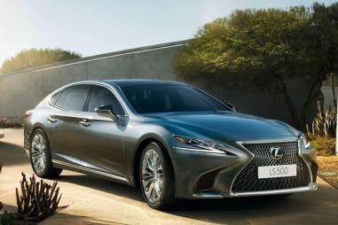 Lexus начинает прием заказов на новый LS: от 5,5 до 9,2 млн рублей