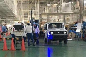Массовый выпуск нового Suzuki Jimny стартует в начале 2018 года.