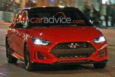 Новый Hyundai Veloster «подловили» в Австралии