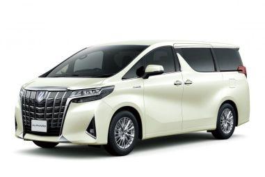Toyota Alphard обновился и получил 8-ступенчатый «автомат»