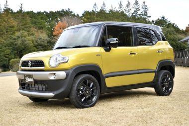 В Японии начались продажи компактного кроссовера Suzuki Xbee