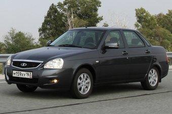 В последний год производства планируется выпустить 7000 Lada Priora.