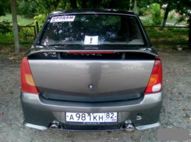 Dacia Logan 2007 отзыв автора | Дата публикации 01.12.2017.