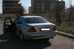 Mercedes-Benz S-Class, 2002