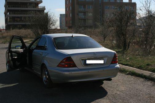 Mercedes-Benz S-Class 2002 - отзыв владельца