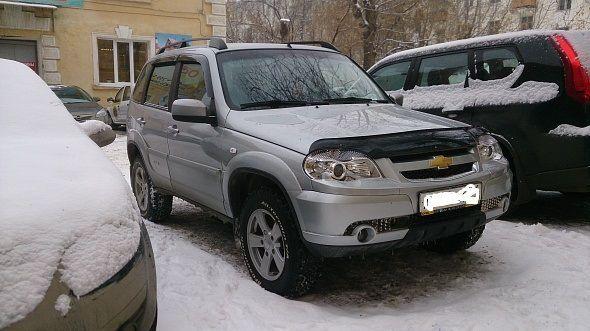 Chevrolet Niva 2013 - отзыв владельца